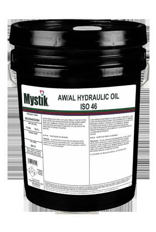 Mystik® AW/AL Hydraulic Oil ISO 46 | Mystik Lubricants
